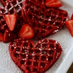 Gluten Free Red Velvet Waffles | My Hot Southern Mess