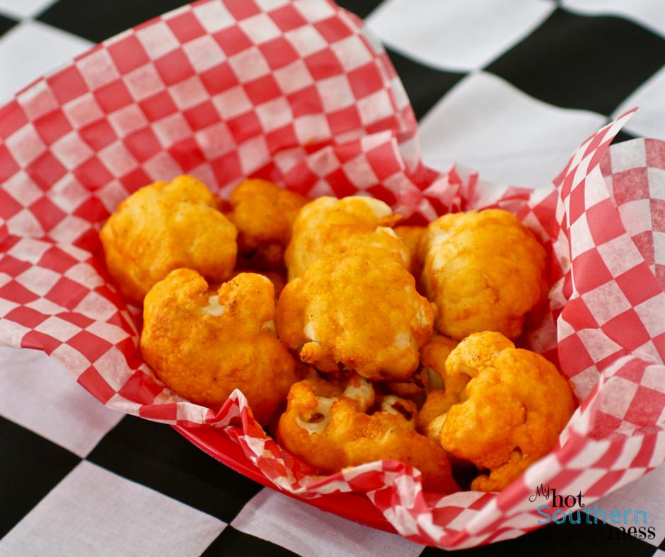 Buffalo Cauliflower | Nascar Race Day Snacks