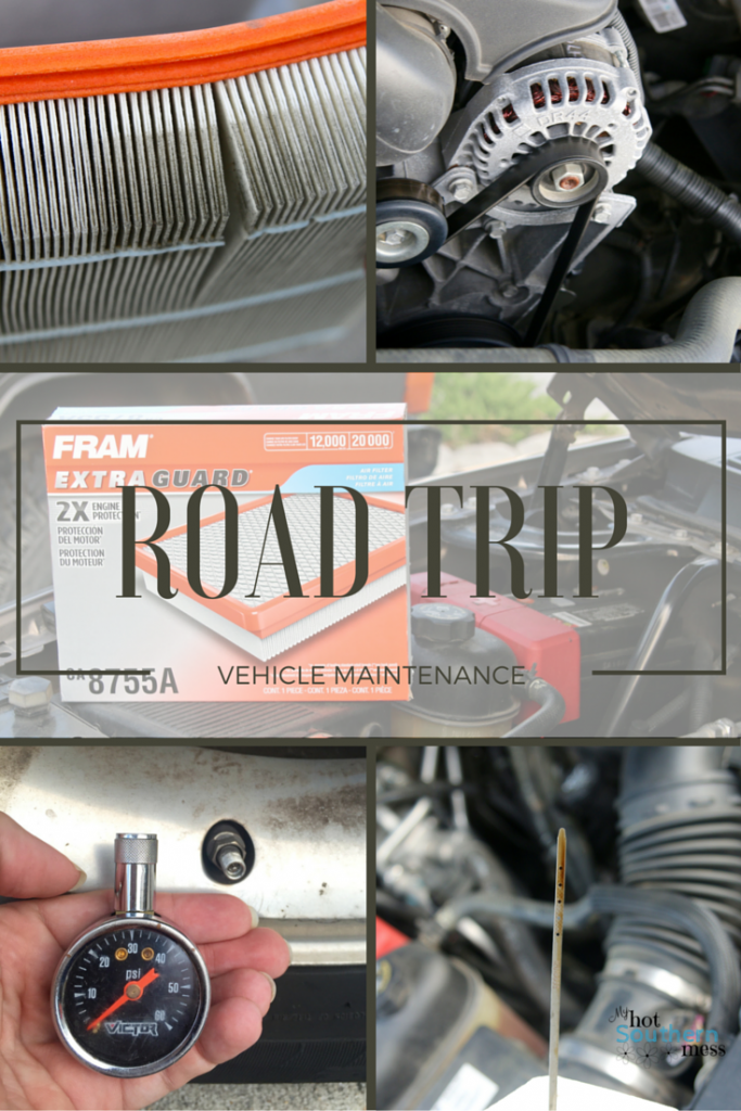 Road Trip Vehicle Maintenance | My Hot Southern Mess