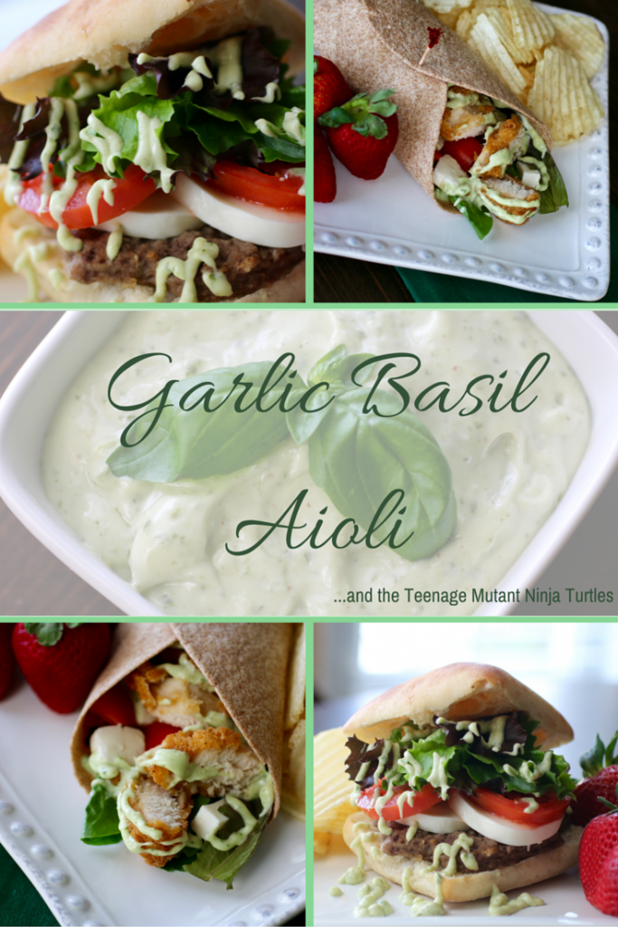 Garlic Basil Aioli | My Hot Southern Mess turtles