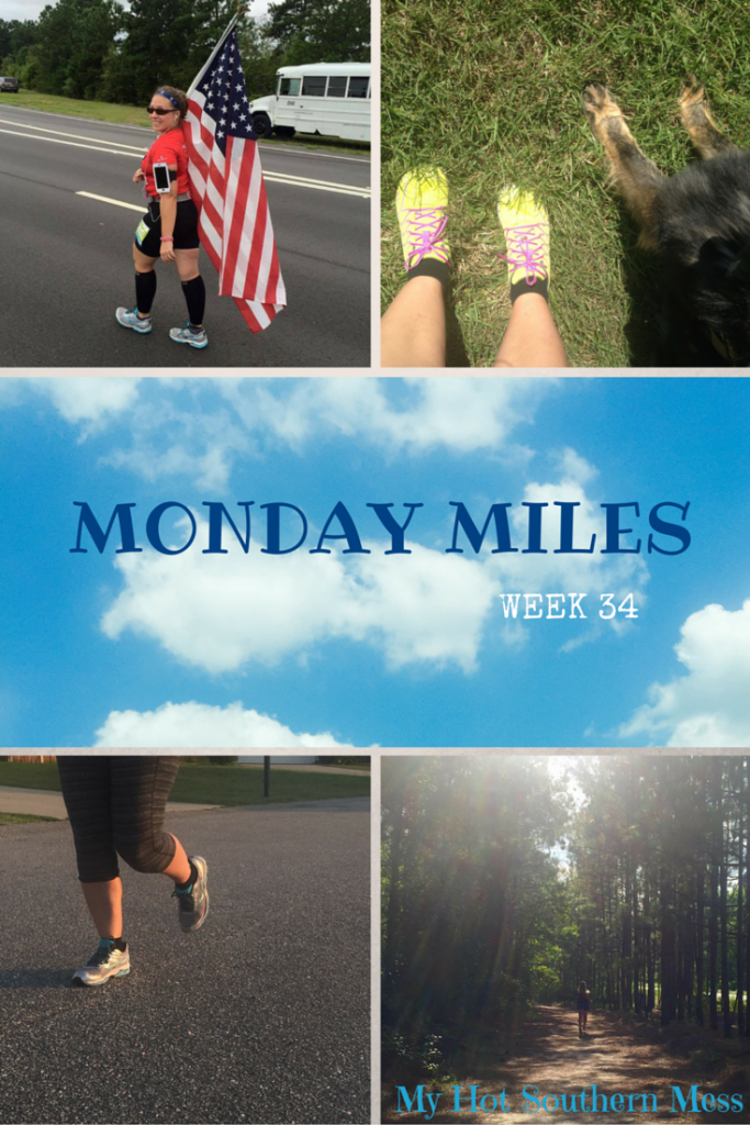 MondayMiles - WEEK 34