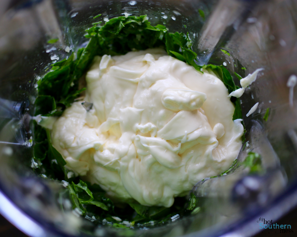 Garlic Basil Aioli | My Hot Southern Mess