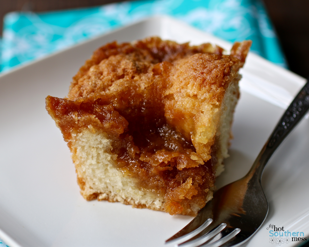 Crater Cake aka Mom's Coffee Cake | My HotSouthern Mess