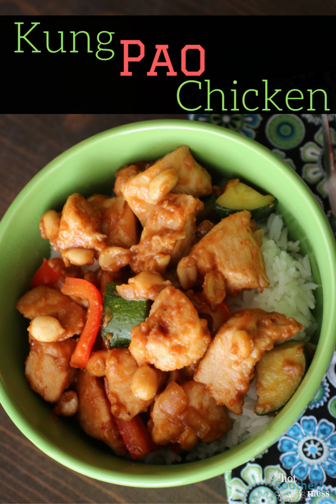 Kung Pao Chicken   My Hot Southern Mess