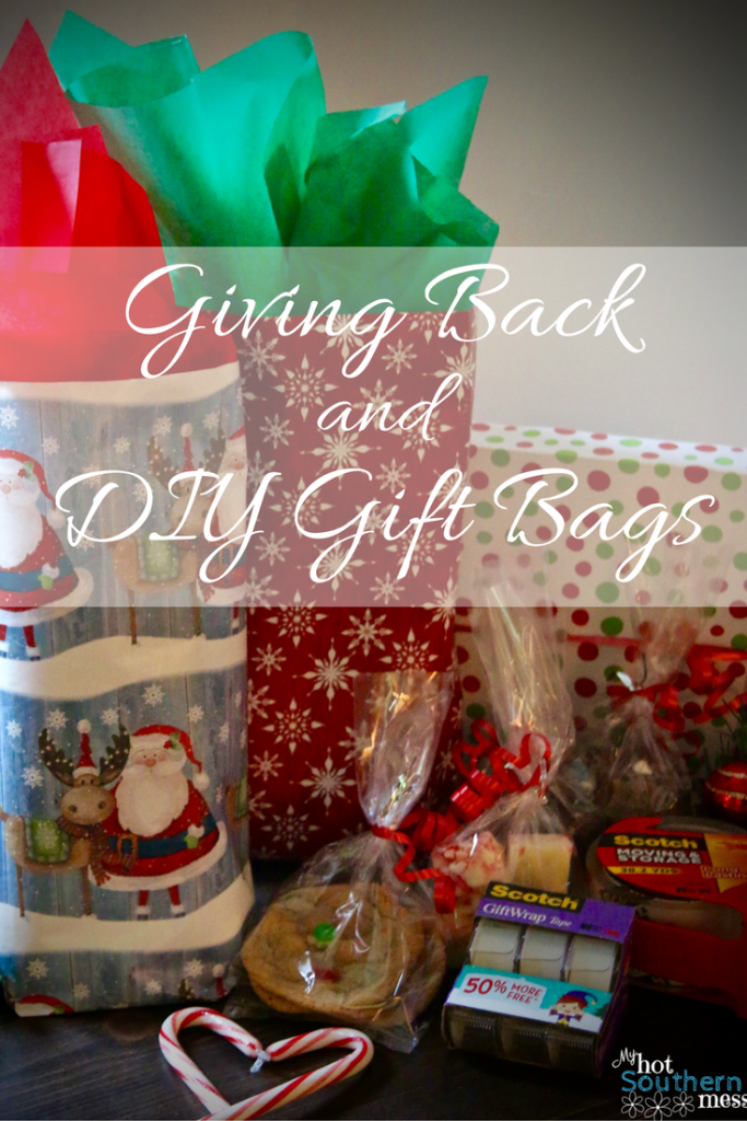 Giving Back and Easy DIY Gift Bags | My Hot Southern Mess