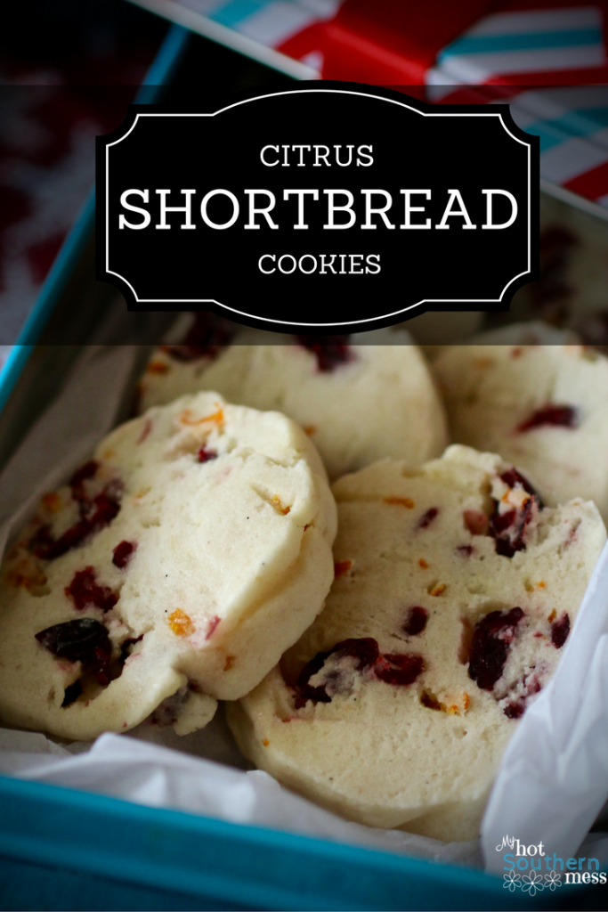 Citrus Shortbread Cookies | My Hot Southern Mess