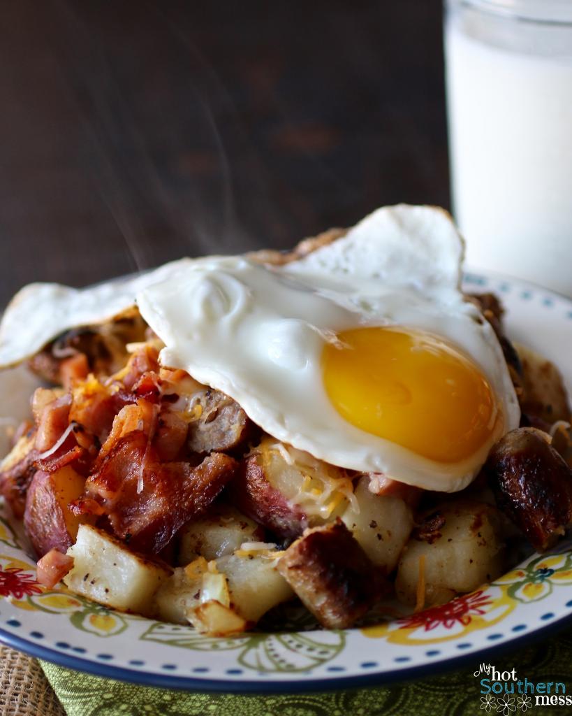 Hearty Potato Skillet | My Hot Southern Mess