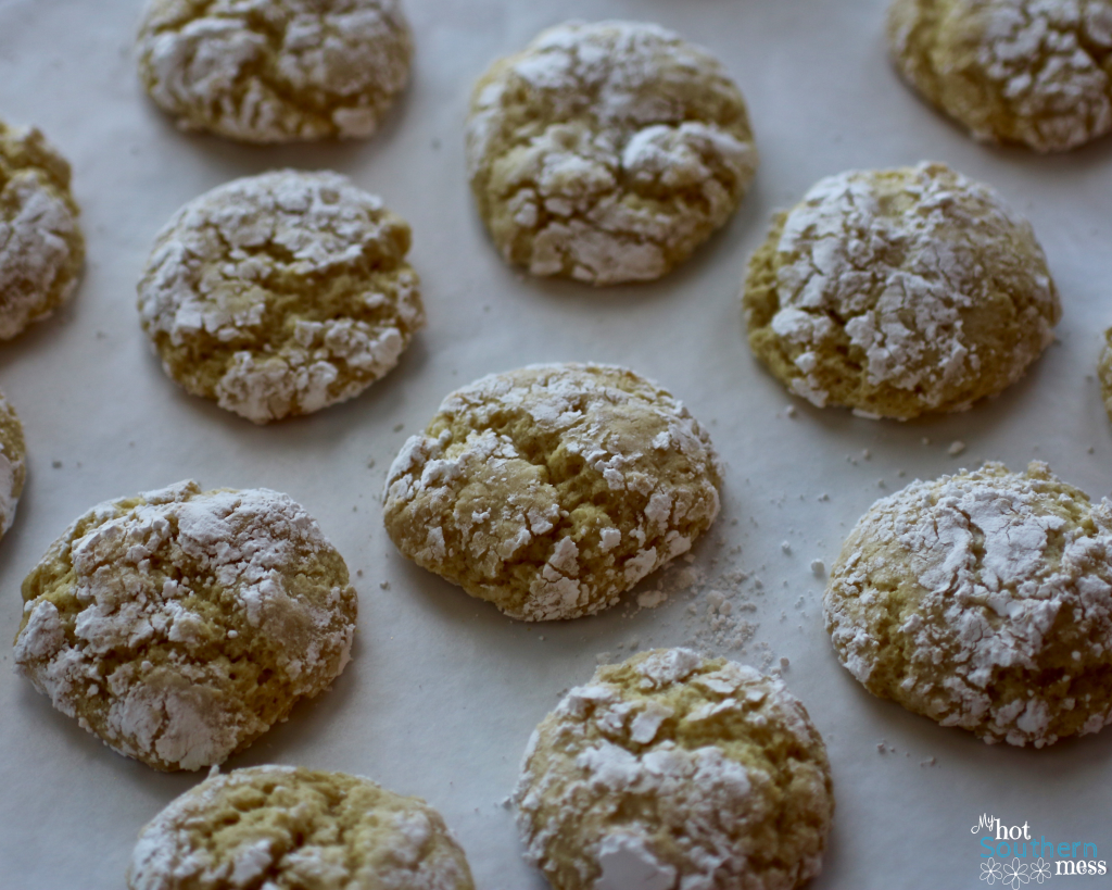 Lemon Crinkles | My Hot Southern Mess