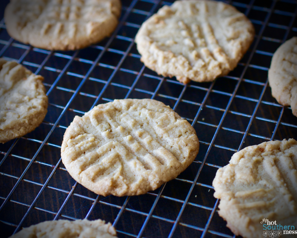Classic Peanut Butter Cookies | My Hot Southern Mess