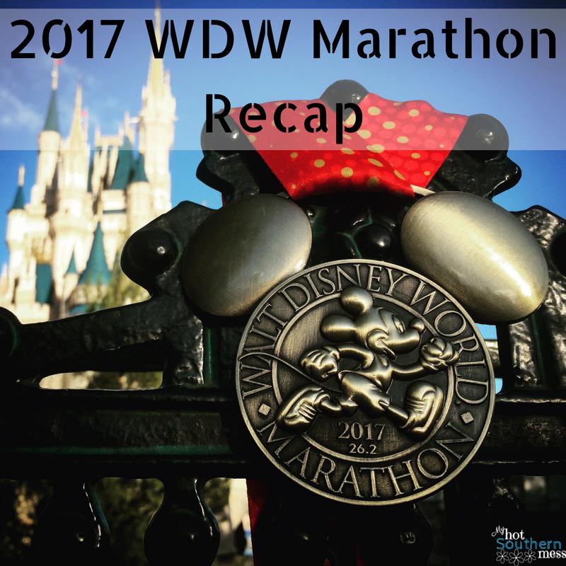 2017 WDW Marathon Recap | My Hot Southern Mess