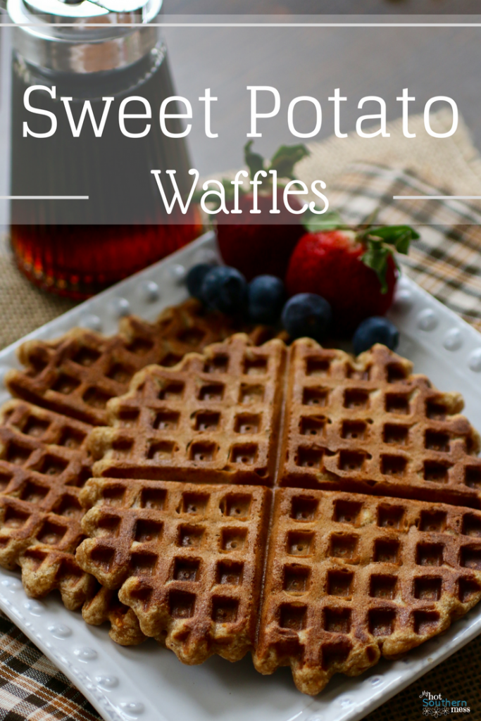 Sweet Potato Waffles | My Hot Southern Mess