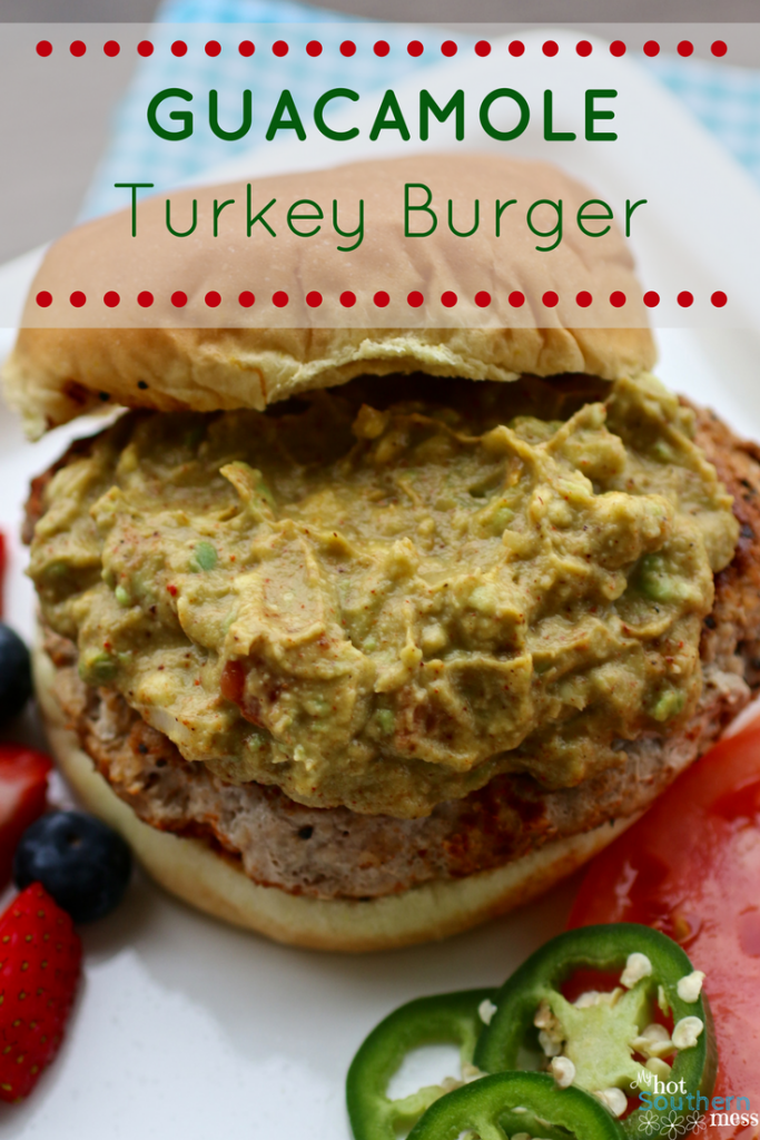 Guacamole Turkey Burger | My Hot Southern Mess
