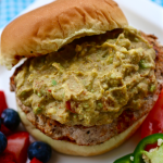 Guacamole Turkey Burgers | My Hot Southern Mess
