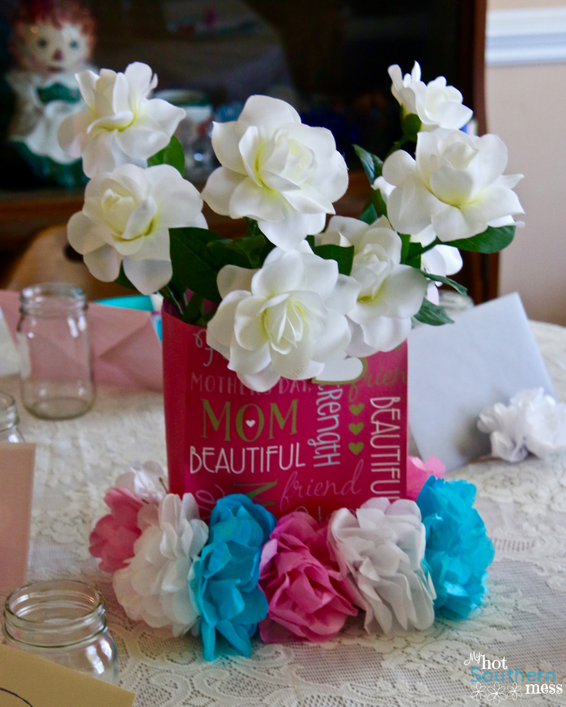 Tissue Paper Flowers Garland My Hot Southern Mess
