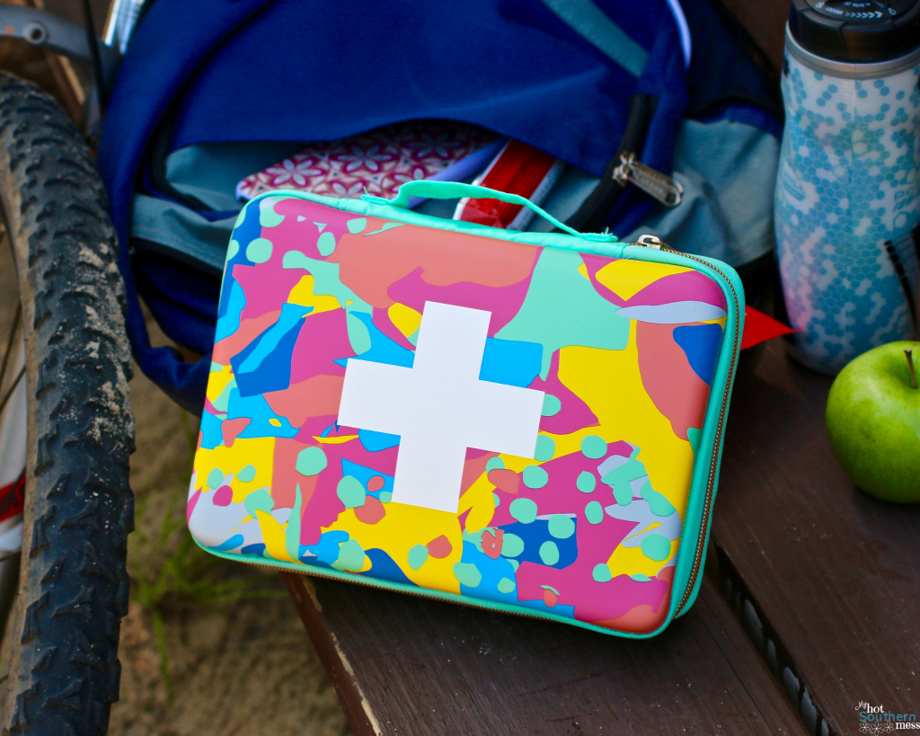 DIY First Aid Kit for Active Families