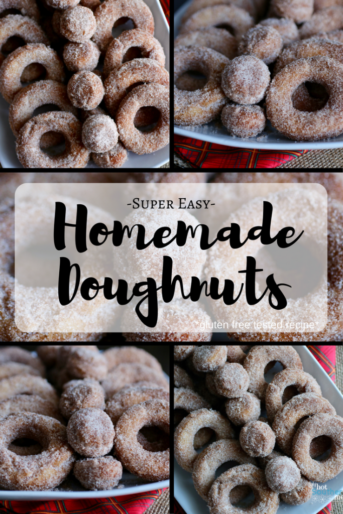 Super Easy, Homemade Doughnuts| My Hot Southern Mess