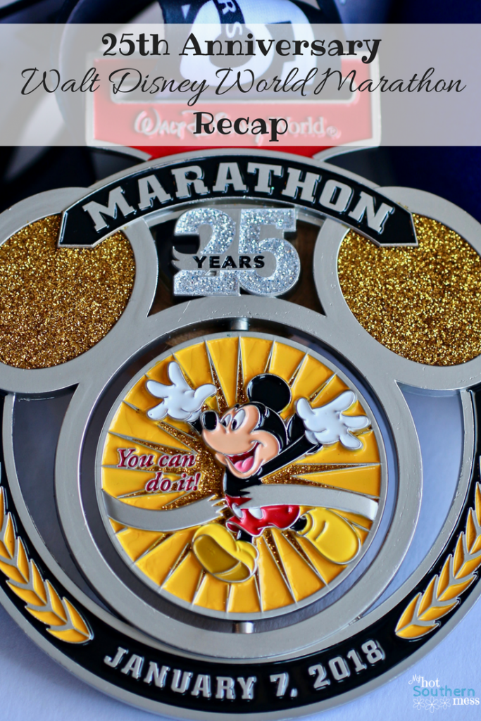 25th Anniversary WDW Marathon Recap | My Hot Southern Mess