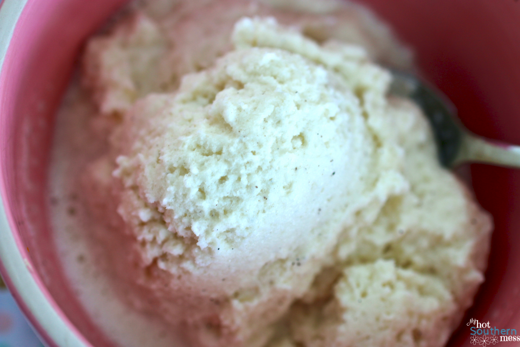 Easy Snow Cream | My Hot Southern Mess
