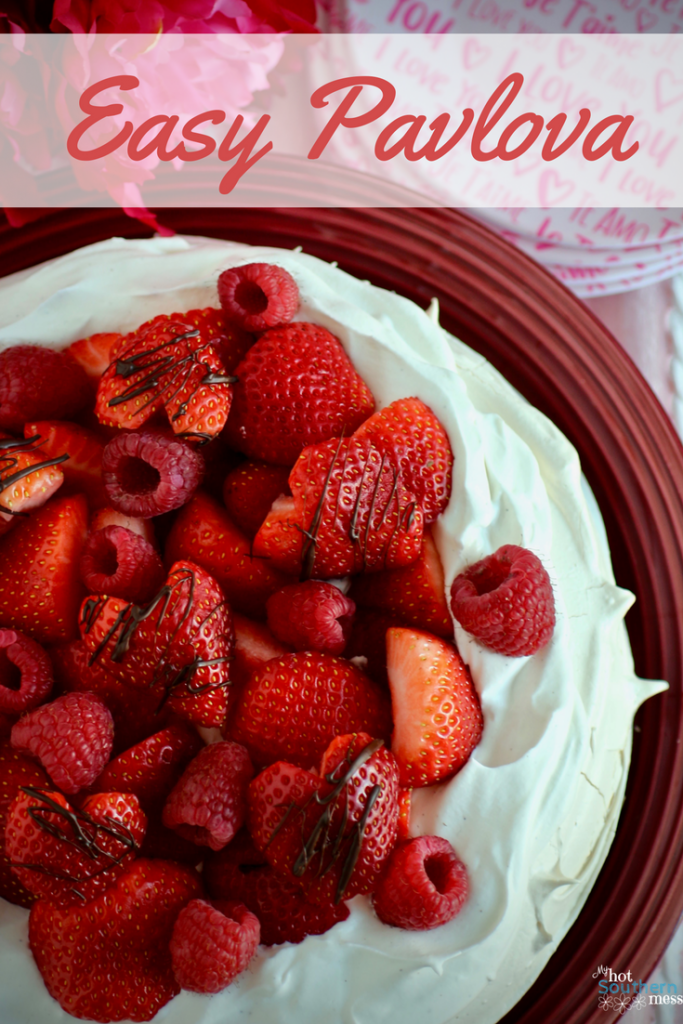 Easy Pavlova | My Hot Southern Mess