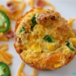 Cornbread Muffins with Cheddar, Jalapeño and Bacon | My Hot Southern Mess