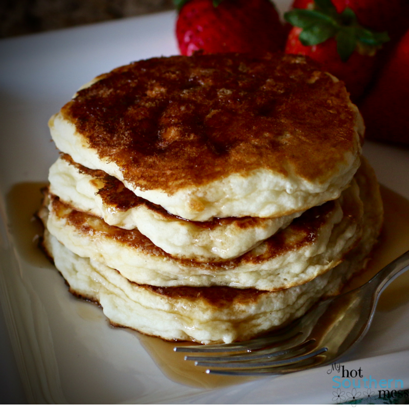 Gluten Free Fluffy Pancakes | Country Girl Gourmet