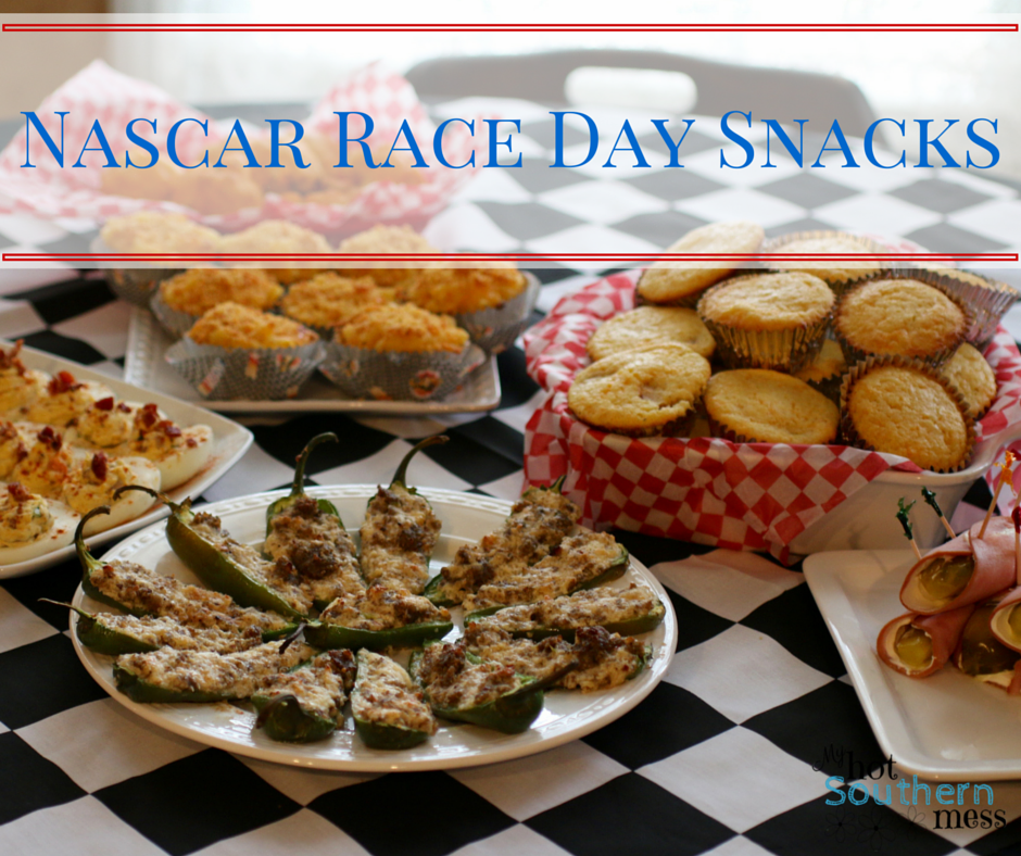 Are you looking for some of the best Nascar race day snacks? Look no further because this collection is all of winners!