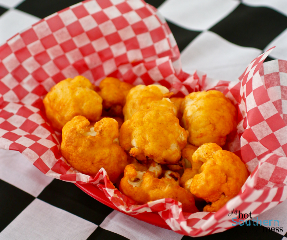 Buffalo Cauliflower | Nascar Race Day Snacks