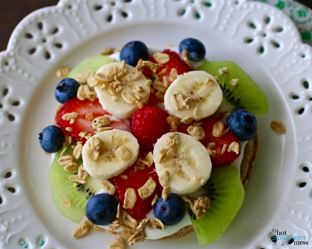 Easy Breakfast Fruit Pizza | My Hot Southern Mess