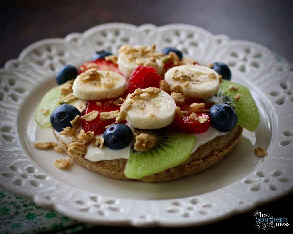 Easy Breakfast Fruit Pizza   My Hot Southern Mess
