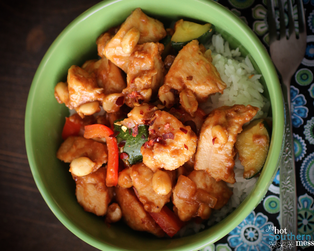 Kung Pao Chicken | My Hot Southern Mess
