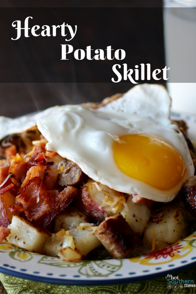 Hearty Potato Skillet | My Hot Southern Mess