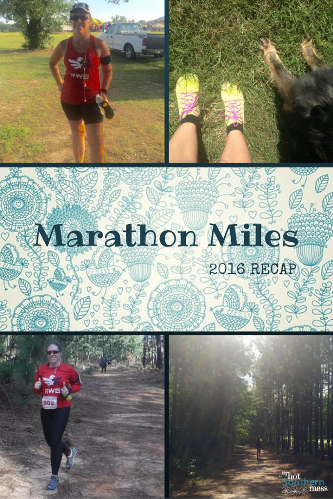 Marathon Miles | 2016 Recap