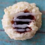 Raspberry Thumbprint | My Hot Southern Mess