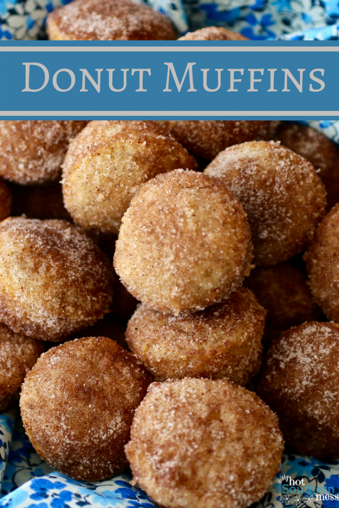 Donut Muffins | My Hot Southern Mess