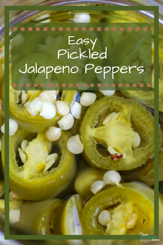 Easy Pickled Jalapeños | My Hot Southern Mess