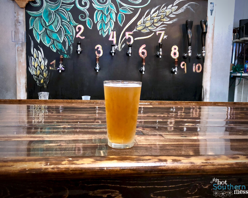 Brews, Burgers and Yoga at Dirtbag Ales | My Hot Southern Mess