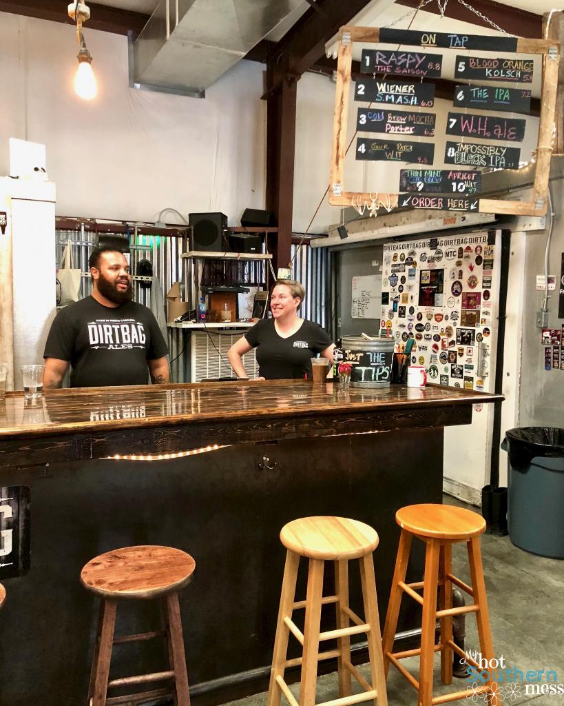 Brews, Burgers and Yoga at Dirtbag Ales | My Hot Southern Mess