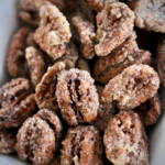 Simple Candied Pecans | My Hot Southern Mess