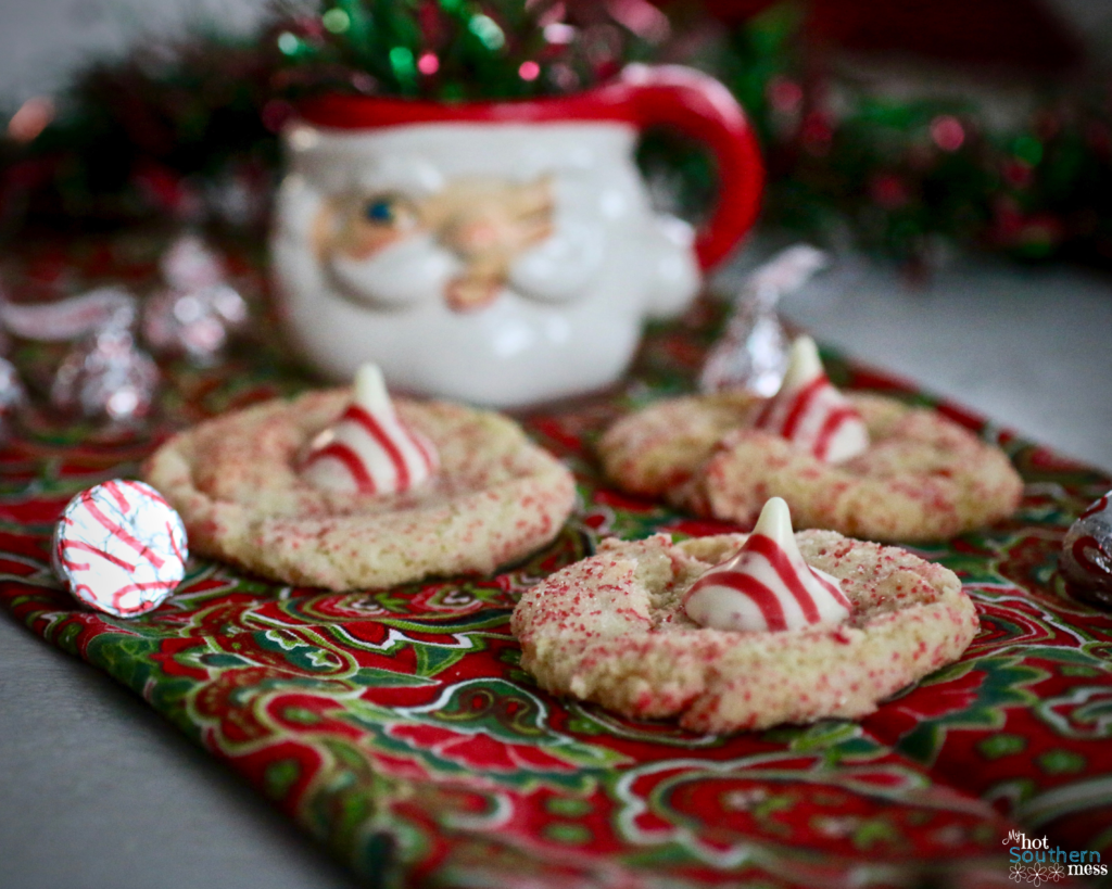 Candy Cane Cookies | My Hot Southern Mess
