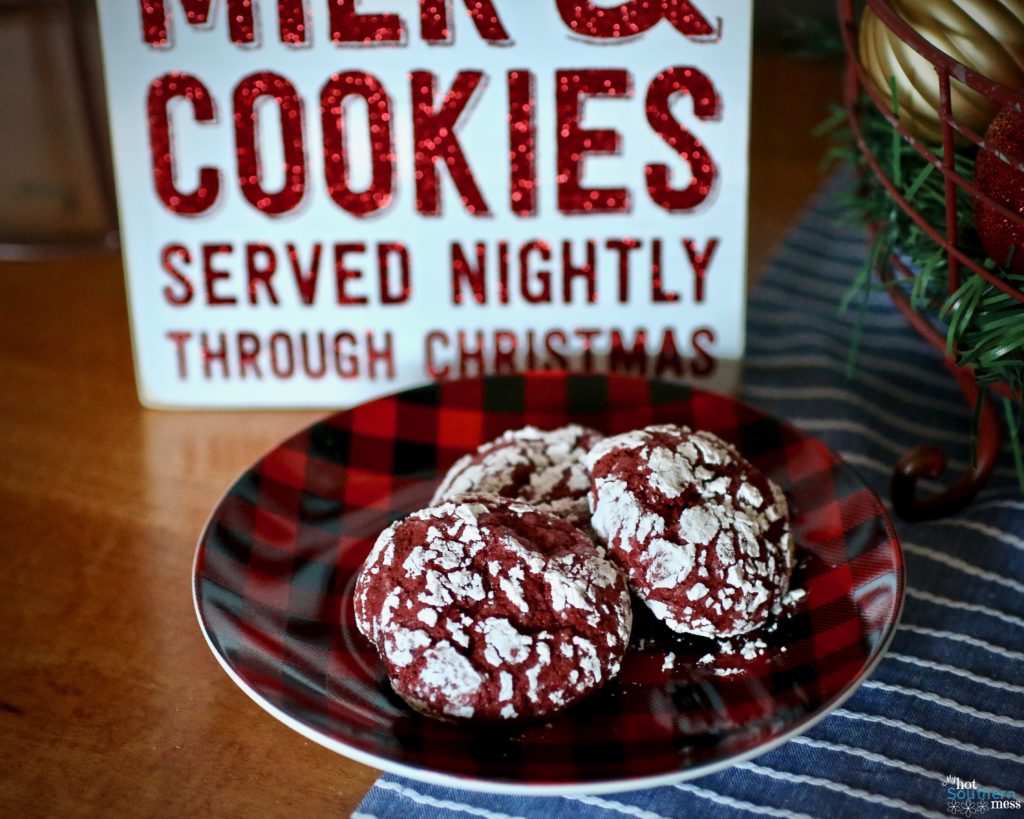 Red Velvet Crinkles| My Hot Southern Mess